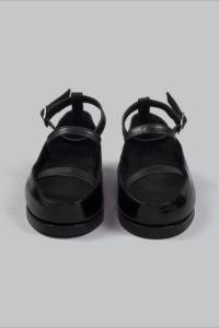 Half-Measures-Flatform-Sandal-Black-Front2F
