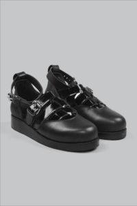 Half-Measures-Cutout-Sandal-Black-FrontFRA