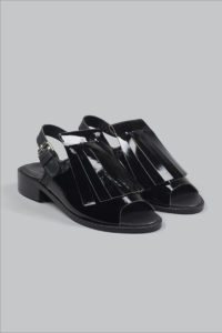Half-Measures-Fringe-Sandal-Black-FrontFRA