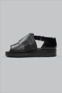 Half-Measures-Peel-Back-Sandal-Black-Side2FRA