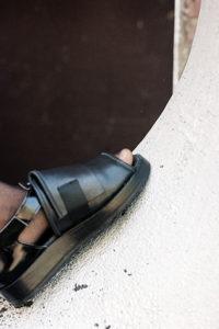 Half-Measures-Peelback-Sandal-Black-1
